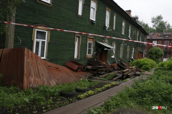 Тот самый дом в переулке Водников, жильцы которого рассказали о своих бедах в выпуске программы «Мужское / Женское» на Первом канале