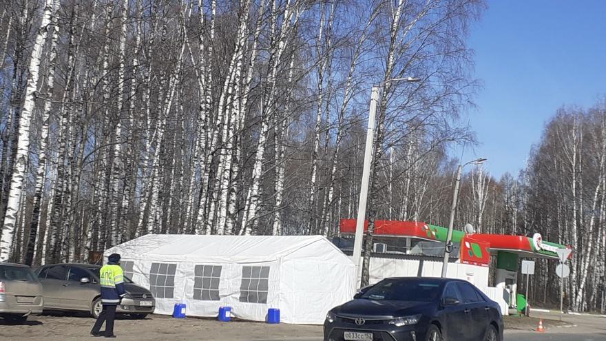 В Нижегородской области появились блокпосты, на которых замеряют температуру