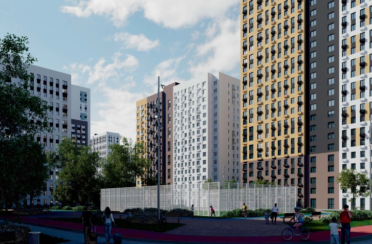 Так будут выглядеть новые многоэтажки на ЖБИ