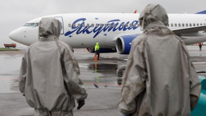 В Екатеринбург прилетели вахтовики с якутского месторождения, где произошла вспышка COVID-19