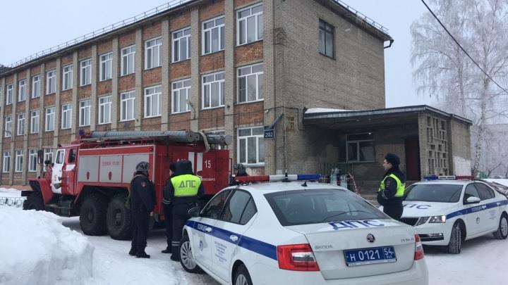 Какие школы Новосибирска «заминировали» — показываем в одной картинке