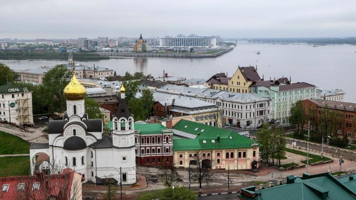 То солнце, то дождь: погода в Нижнем Новгороде будет переменчивой
