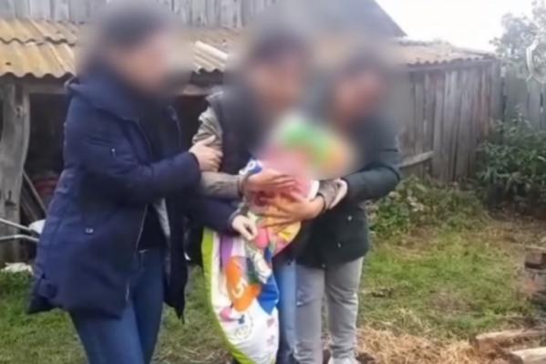 Женщина созналась в убийстве и показала место, где закопала годовалого сына