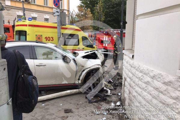 Гулиев на белом внедорожнике сбил троих пешеходов