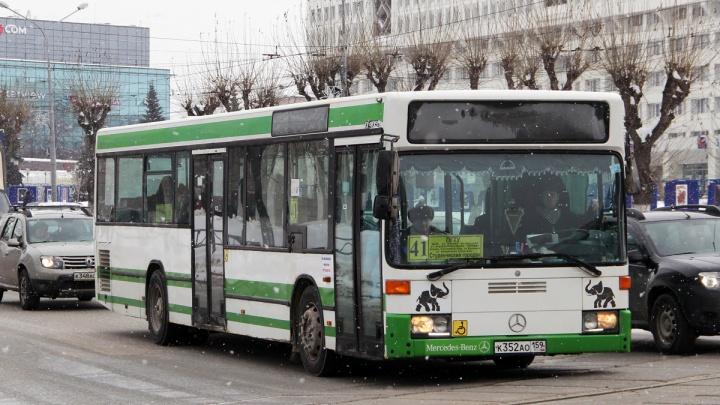 В Перми из-за коронавируса сократят количество автобусов