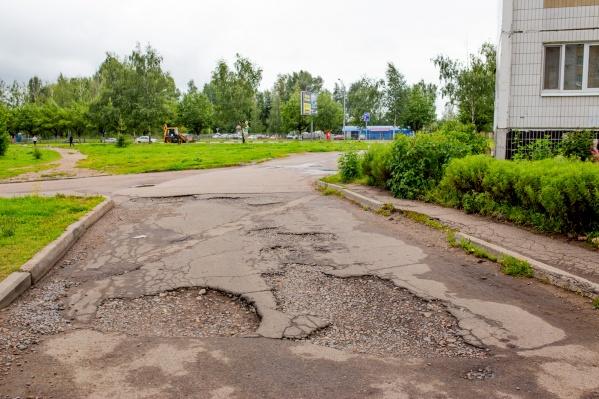За ремонт ям во дворах придется платить жителям