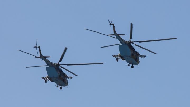 «Грачи» пролетели: над Волгоградом прошел генеральный прогон воздушного парада