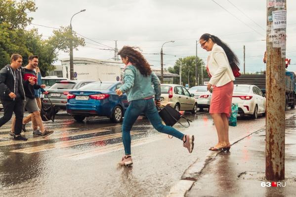 Местами пройдет дождь