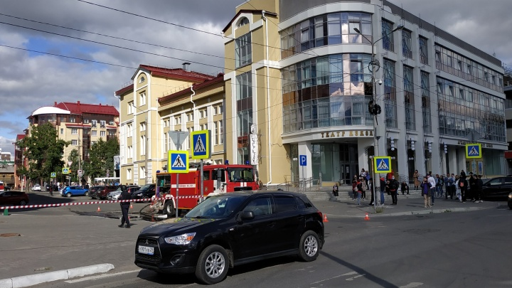 «Сообщение о минировании»: в региональном Управлении ФСБ прокомментировали эвакуацию «Европарка»