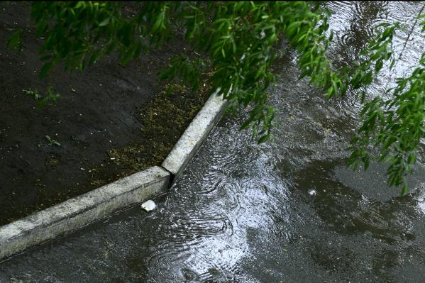 Дождь в Челябинске ожидается ночью