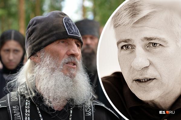 Евгений Вышенков встретил отца Сергия во время поездки вАлапаевск