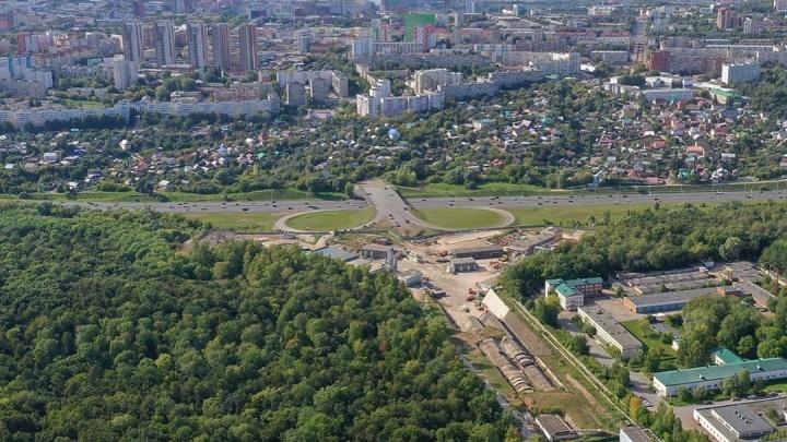 С высоты птичьего полета: фотограф из Уфы показал, как строят знаменитый Восточный выезд