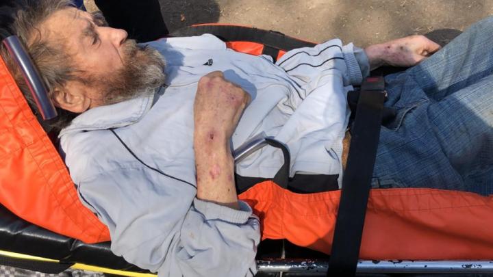 В Уфе скончался 85-летний дедушка, которого в крайне истощенном состоянии нашли волонтеры