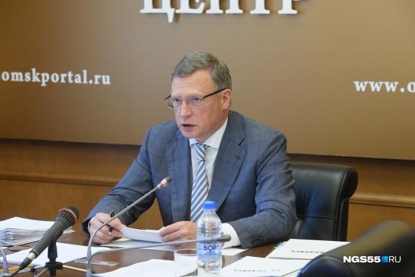 Губернатор отказался от реабилитации после коронавируса, чтобы не допустить ухудшения ситуации в Омской области