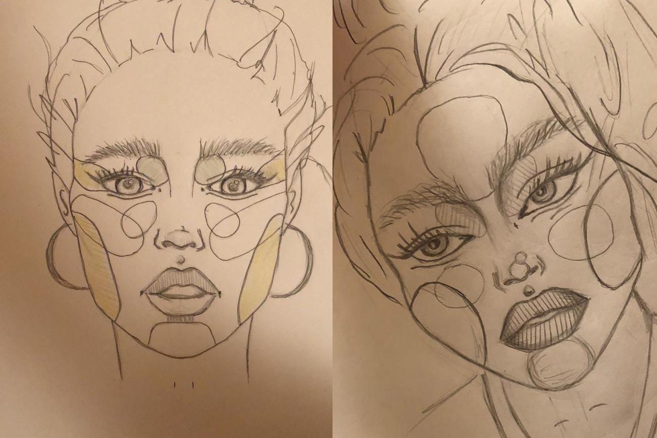 Гуляя по просторам интернета, Дарья Боровская нашла уроки портретного рисунка. Это её первые работы<br>