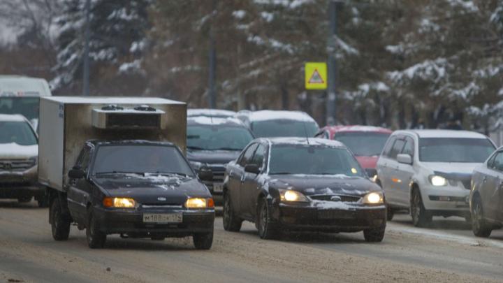 Ограничения движения по трассам в Курганской области частично сняли