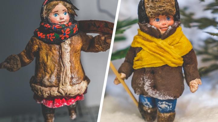 Пермячка делает ватные игрушки по старинной технологии. Такими украшали елки в СССР