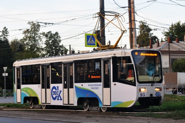 На этих выходных прокатиться на трамвае № 8 не получится