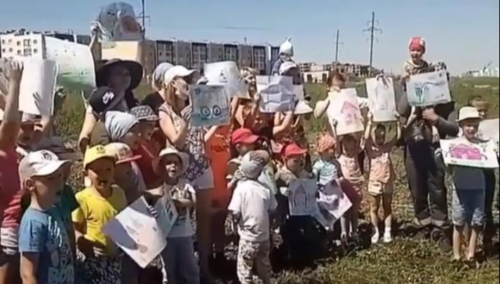 В Башкирии дольщики «Миловского парка» отмечают «юбилей» палаточного лагеря