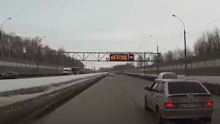Разница в 10 км/ч: новосибирец обвинил камеры видеофиксации на Бугринском мосту в несправедливых штрафах