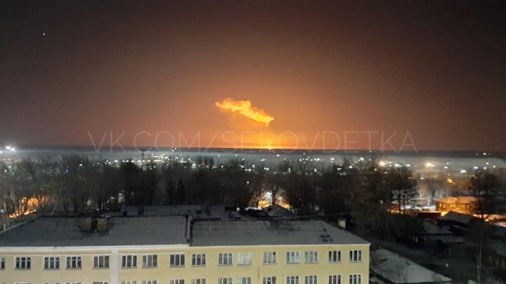 Под Серовом прогремел взрыв газопровода