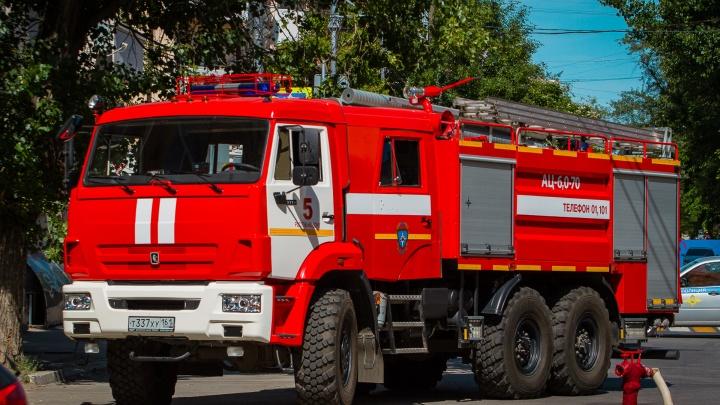 В Ростовской области в пожаре сгорела двухлетняя девочка
