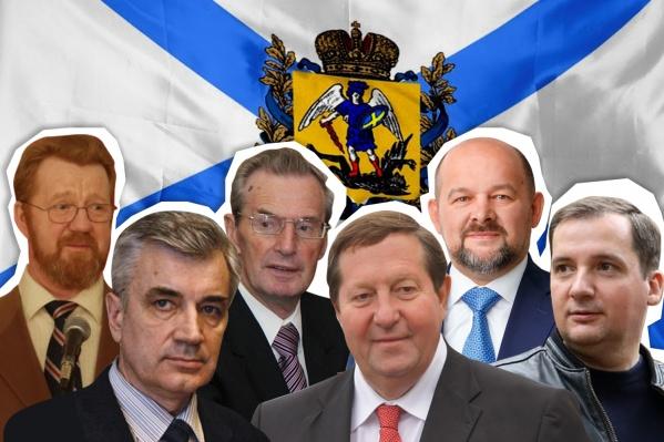 В истории РФ Архангельской областью руководили шесть человек, четыре из них были избранными губернаторами