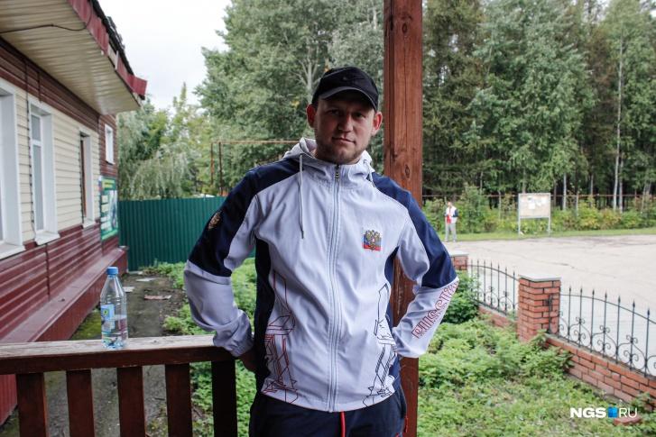 Егор приехал за лицензией из Искитимского района