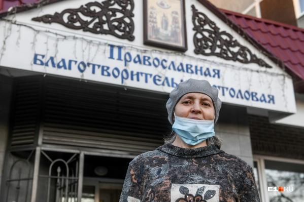 Наталья Евгеньевна, директор столовой, пришла сюда из совсем другого мира — мира искусства