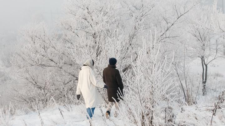 В Кузбассе за выходные 44 человека получили обморожения. Трое из них — дети