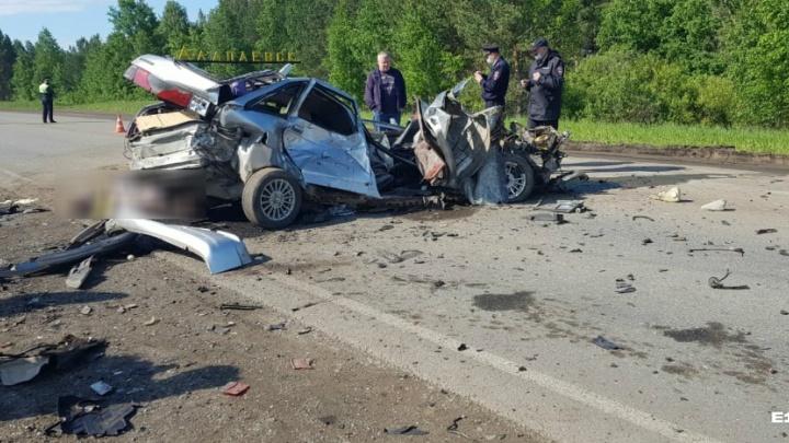 «Накануне водитель употреблял спиртные напитки»: под Алапаевском произошло ДТП с двумя погибшими