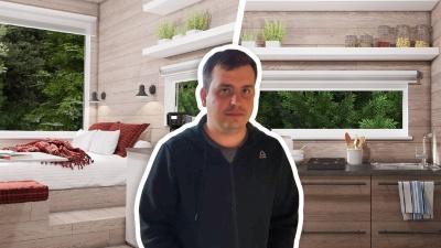Омичи открыли производство маленьких домиков, чтобы сдавать их в аренду в лесу за 3500 рублей