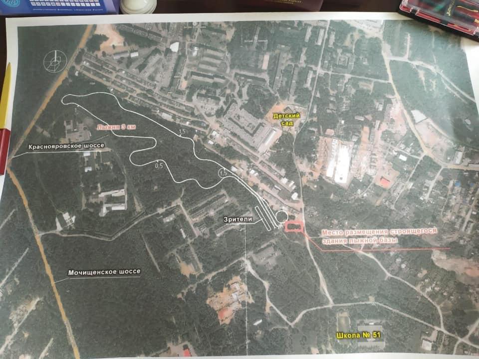 Одноэтажное здание базы будет находиться на улице Охотской