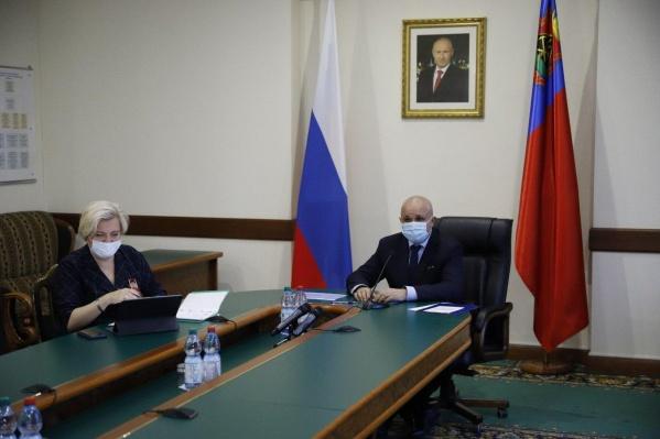 Сергей Цивилев сказал, что нет никаких предпосылок к переводу школ на дистанционное обучение