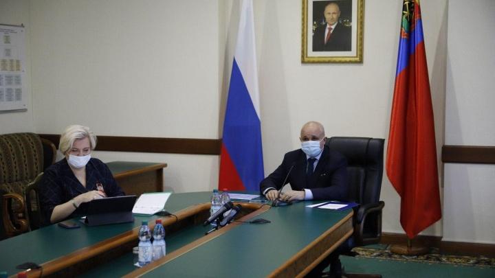 Сергей Цивилев рассказал, будут ли в Кузбассе вводить дистанционку или удлинять школьникам каникулы