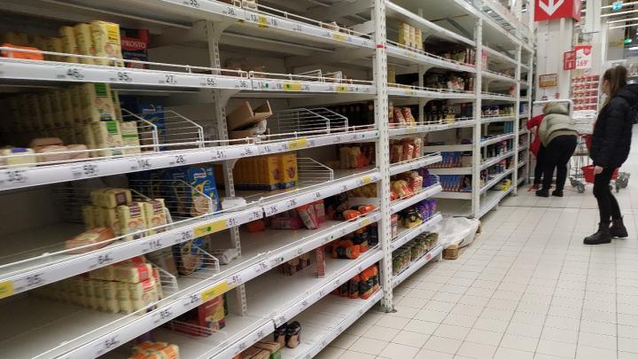 Торговые сети прокомментировали покупательский ажиотаж в Самаре из-за коронавируса