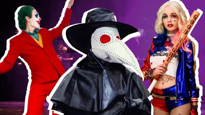 Харли Квин, Джокер и чумной доктор: публикуем фотографии самых ярких героев «Нян-Феста»