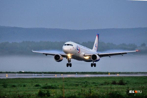 Самолеты в Болгарию будут летать раз в неделю
