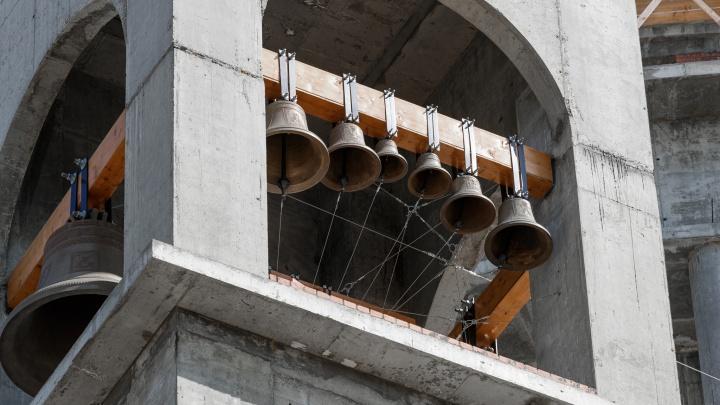 1100 свай, «Благовест» весом 8 тонн и купол из бетона: как строят новый главный собор Челябинска
