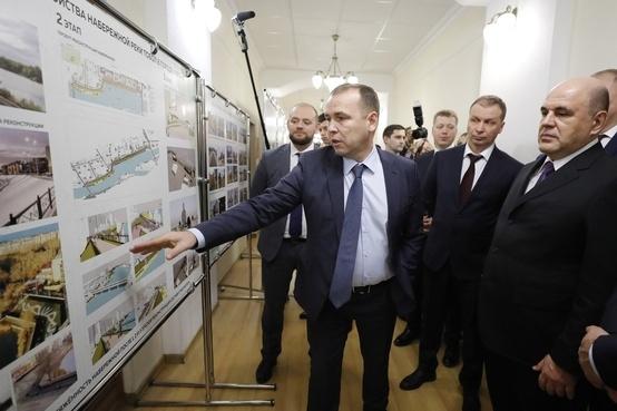 О планах по развитию Заозёрного премьеру докладывал Вадим Шумков