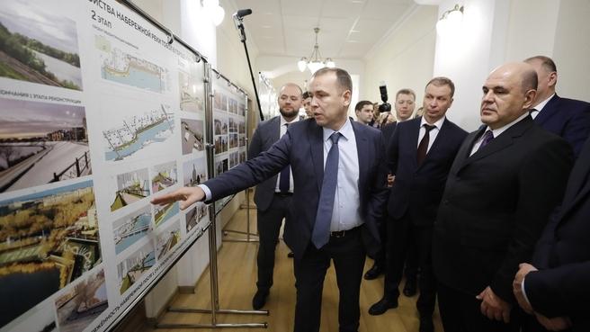 Премьер-министру России рассказали о планах развития Заозёрного