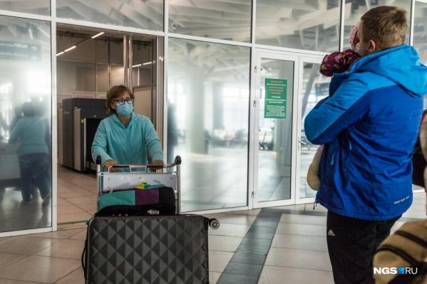 Последний рейс из Китая прилетел в новосибирский аэропорт в феврале