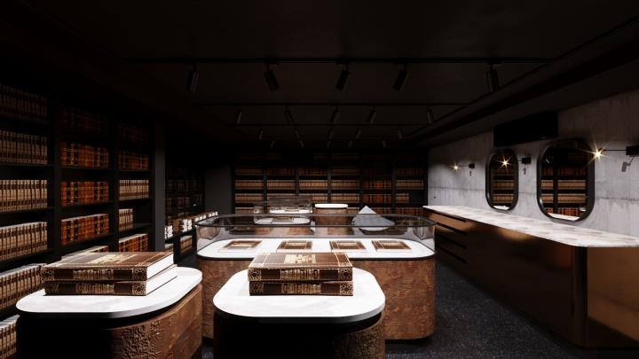 В Верхней Пышме старейший книжный магазин переделали в общественное пространство в стиле прошлого и будущего
