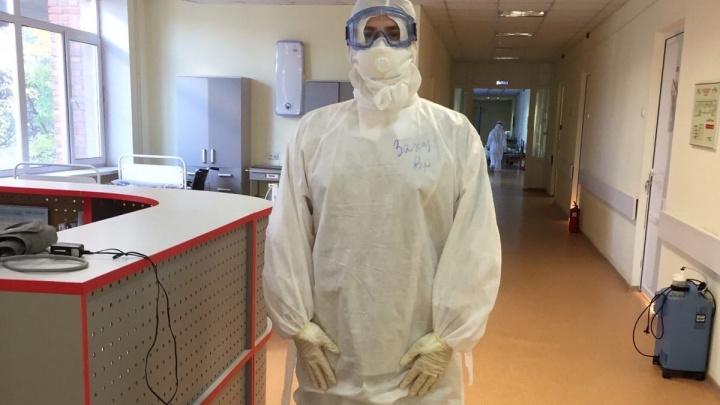 «Порой возвращаешься домой с пустыми глазами»: честный рассказ молодого врача из ковидного госпиталя Волгограда