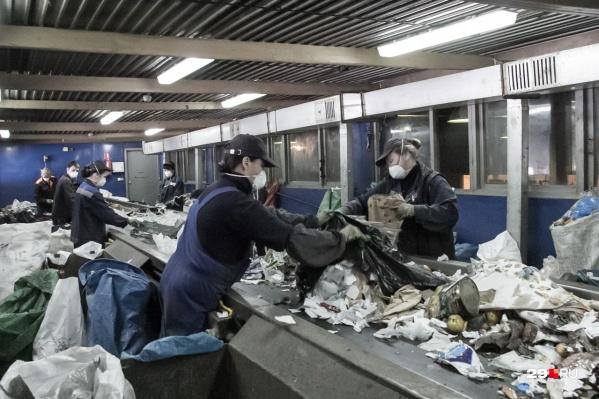 Предполагается строительство мусоросортировочного комплекса с переработкой пластика и полигона для размещения «хвостов»