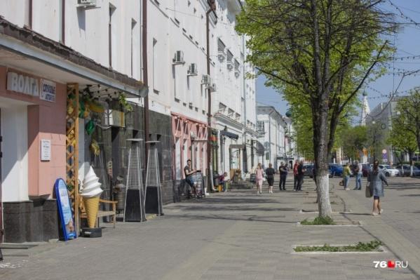 На Кирова этим летом появятся уличные веранды, когда коронавирус отступит