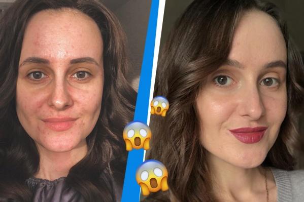 Как вам больше нравится — с макияжем или без него?