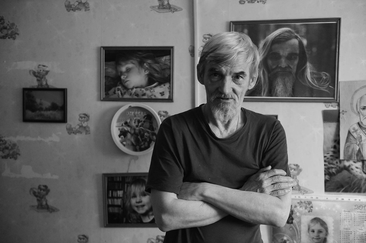 На снимке Юрий Дмитриев/автор фотоВиктория Ивлева