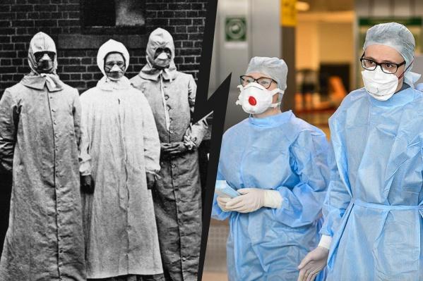 Сто лет назад испанкой заразилось полмиллиарда человек