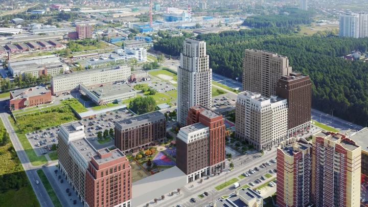 Площадь с фонтаном и лаунджи: новый квартал на юго-западе будет развиваться по нестандартному сценарию